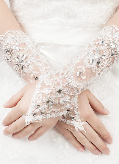 Tulle/Lace Bridal Gloves