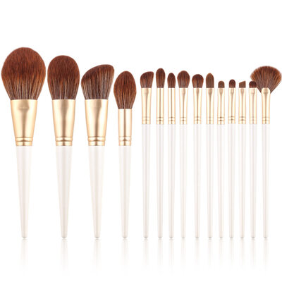 Bridesmaid Gifts - Dreamlike Rayon Makeup Brush Sets (Set of 15)