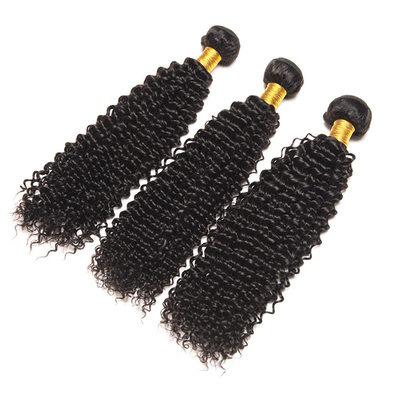 5A Virgin / remy Kinky Curly Lidský vlas Lidské vlasy tkát (Prodáno v jediném kusu) 100g