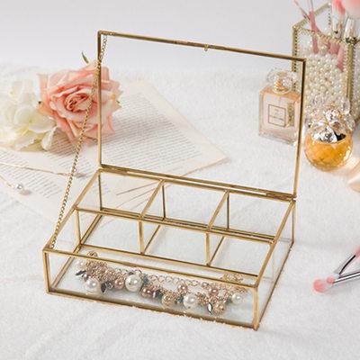 Presentes Da Noiva - Vidro Liga Caixa de jóias