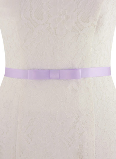 Elegant/Simple Satin Sash With Bow