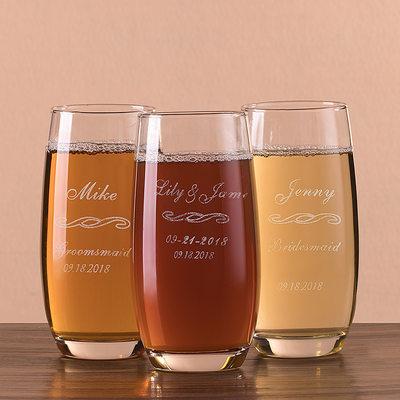 Brudepike Gaver - Personlig Glass Glassvarer og Barware