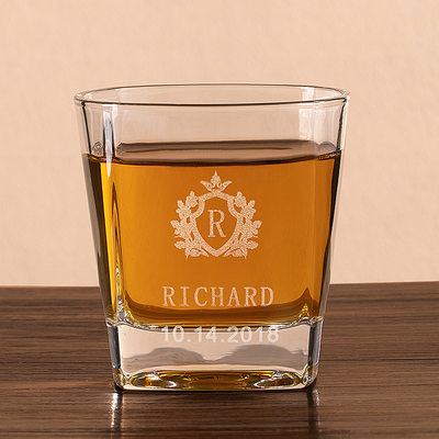 Cadeaux Pour Garçons D'honneur - Personnalisé Élégant Verre Verre de whisky