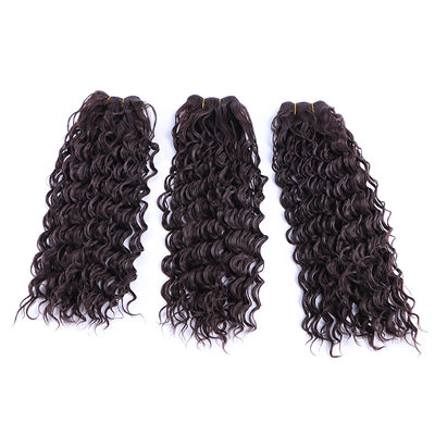 Deep Synthetic Hair Human Hair Weave (Sold in a single piece) 100g