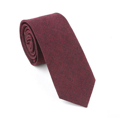 Solid Color Cotton Tie