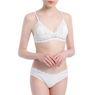 Elegant Chinlon Nylon Bralettes BH Sets