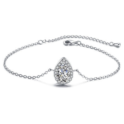 Christmas Gifts For Her - Cubic Zirconia Alloy Delicate Chain Bridal Bracelets