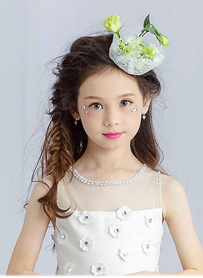 With Flower Flower Headband
