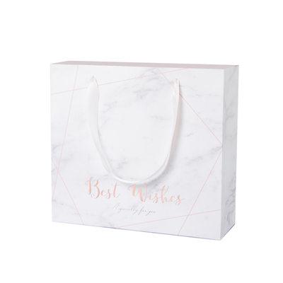 Druhna Prezenty - Elegancki papier do karty Pudełko / torba na prezenty