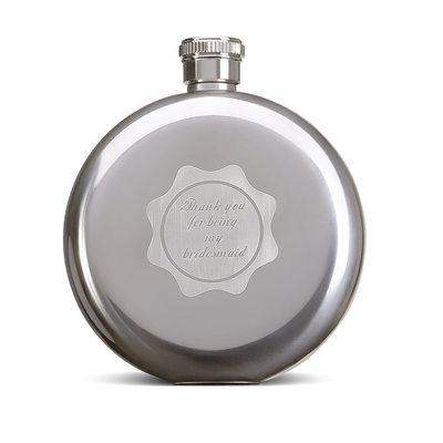 Družička Dárky - Personalizované Krásný Klasický Elegantní Nerezová Ocel Baňka