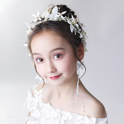 Legierung/Kristall mit Blume Stirnbänder/Ohrringe