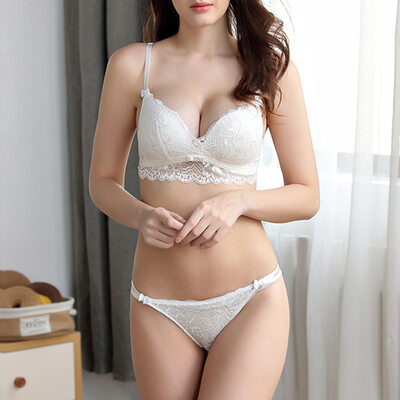 Pure Chinlon Nylon Full Coverage Bra Sets