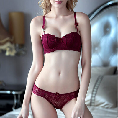 Charming Chinlon Nylon Balconette Bra Sets