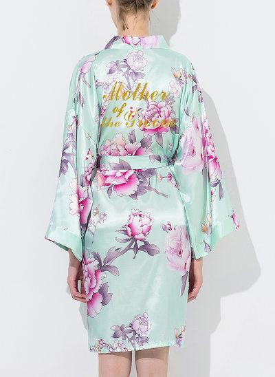la mariée Demoiselle d'honneur Coton Robes florales