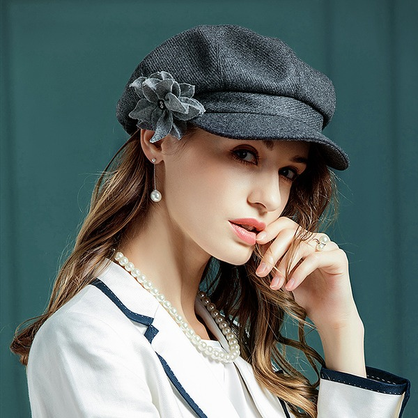 Ladies' Fashion/Elegant/Romantic/Vintage/Artistic Wool Beret Hat