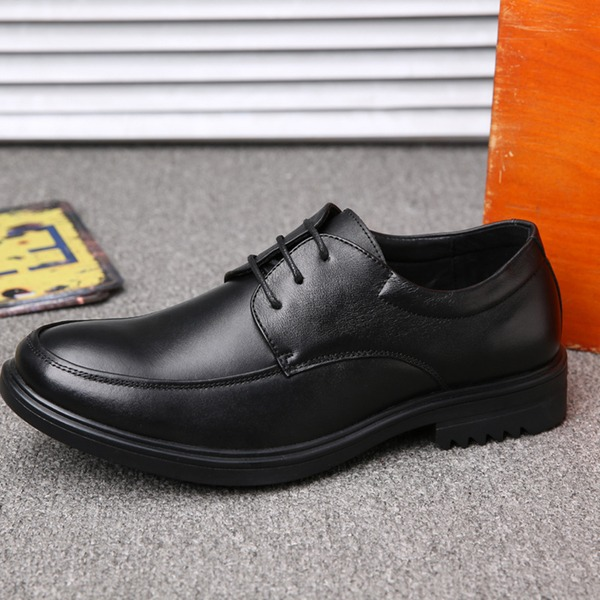 Hommes Similicuir Dentelle U-Tip Chaussures habillées Chaussures Oxford pour hommes