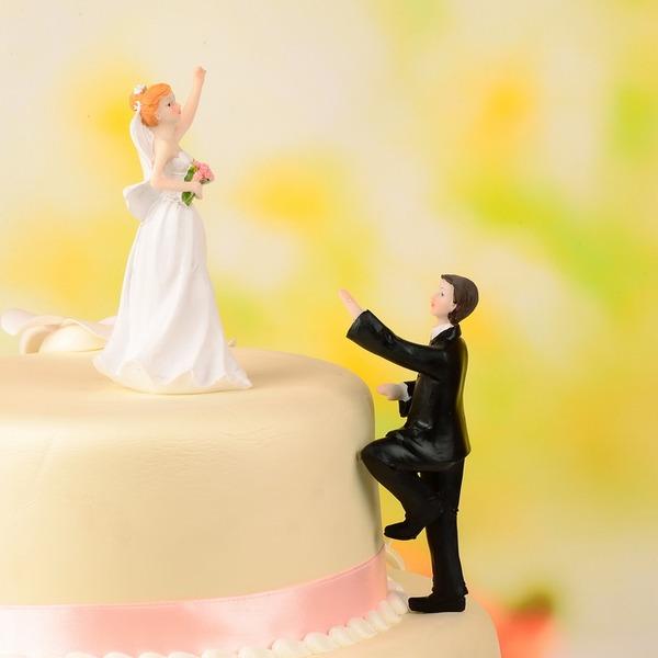 классический Пара смола Свадьба Фигурки для торта