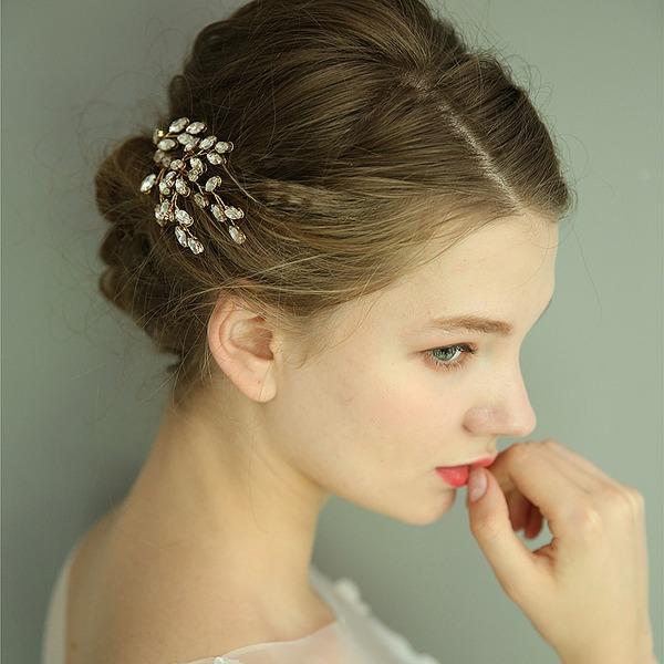 Dames Prachtige Kristal Kammen & Haarspeldjes met Kristal (Verkocht in één stuk)