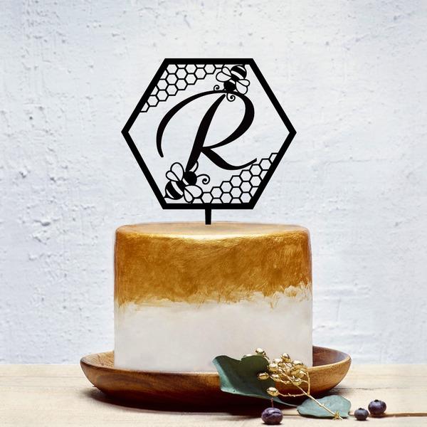 Personalizado Estilo clásico Acrílico Decoración de tortas