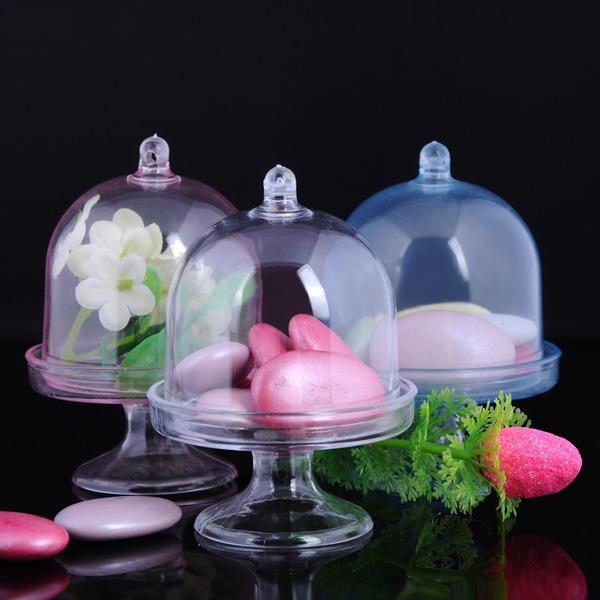 Créatif/Charmant Autre Plastique Vases de bonbon et bouteilles (Lot de 12)