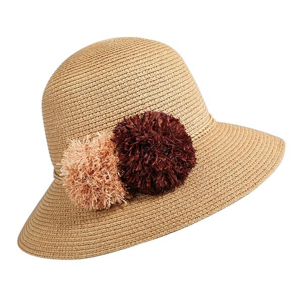 Damen Einfache/Nizza/Fantasie Papyrus Strand / Sonne Hüte