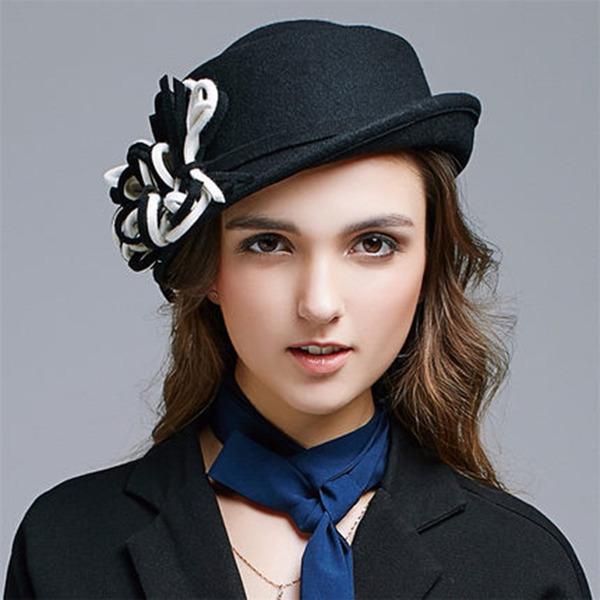Ladies' Elegant Wool Bucket Hats