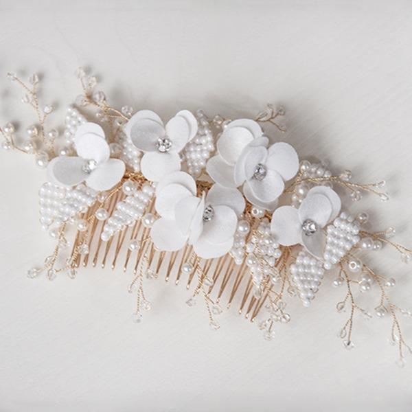 Affascinante lega/rame Pettine & clip di capelli (Venduto in un unico pezzo)