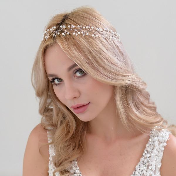 Damen Romantisch Legierung Stirnbänder mit Venezianischen Perle (In Einem Stück Verkauft)