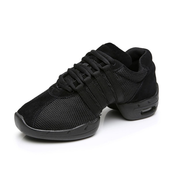 Women's Nubuck Sneakers Sneakers Dance Shoes