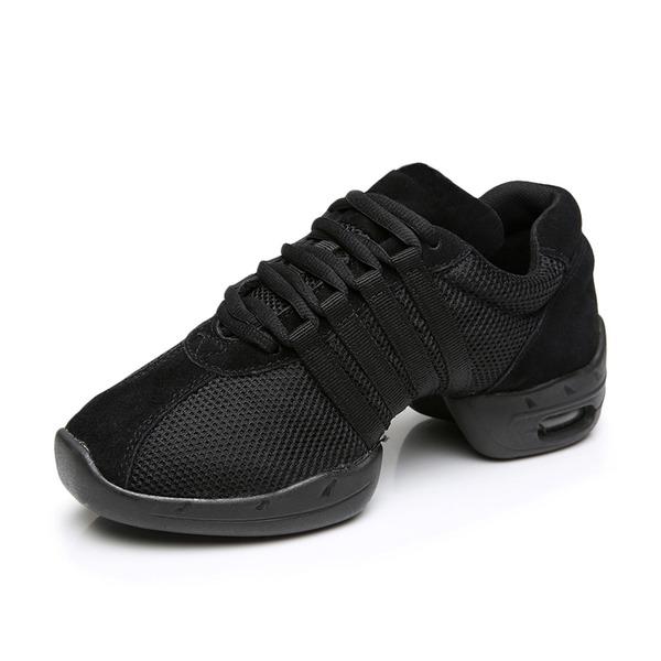 Femmes Nubuck Tennis Baskets Chaussures de danse