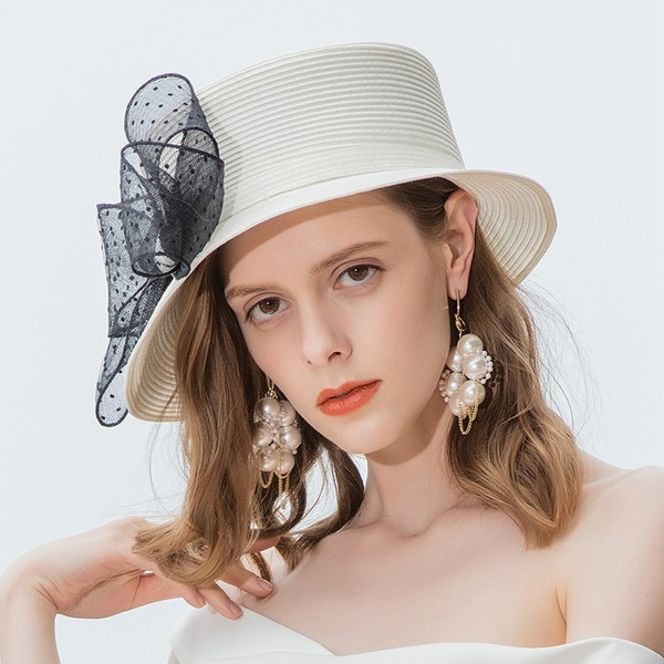 Ladies' Beautiful/Glamourous/High Quality Polyester Beach/Sun Hats