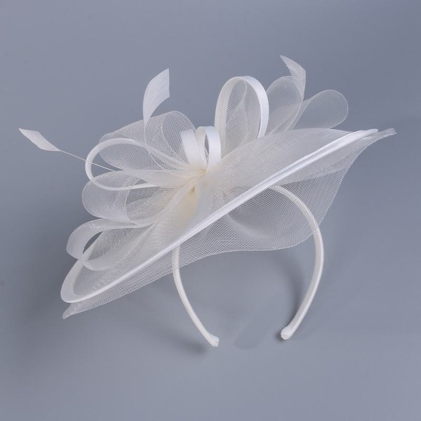 Dames Charmant Batiste avec Feather Chapeaux de type fascinator/Kentucky Derby Des Chapeaux