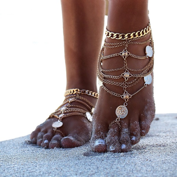Women's Peep Toe With Chain Others