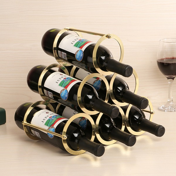 Traditional/Classic Iron Wine Rack