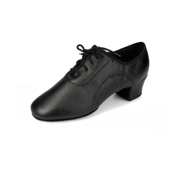 Maschile Vera pelle Tacchi Stiletto Latino Sala da ballo Prova Scarpe Personaggio Scarpe da ballo