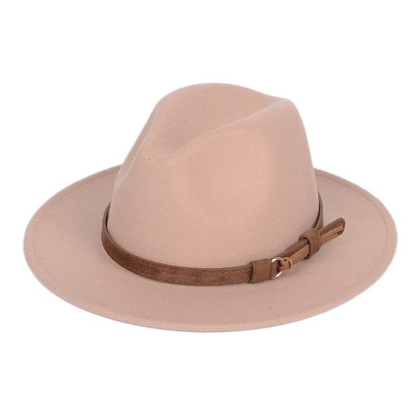 Könsneutrala Unik Filt Fedora Hat