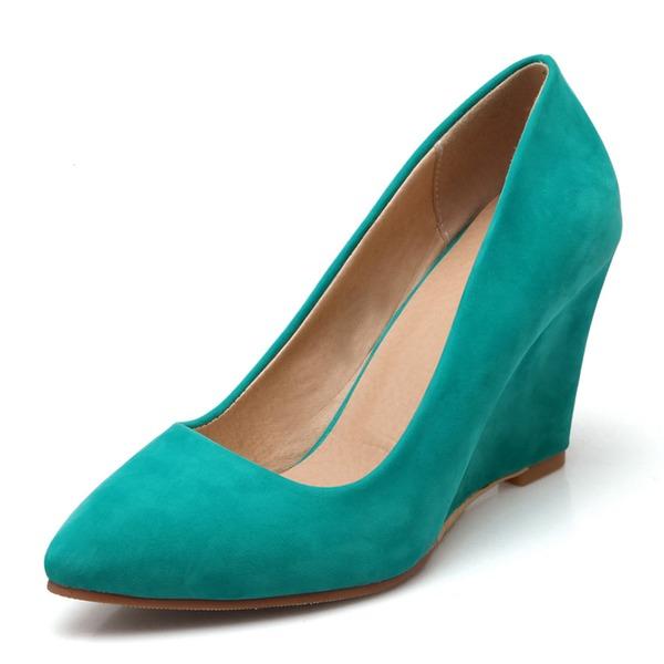 Женщины бархат Вид каблука На каблуках обувь