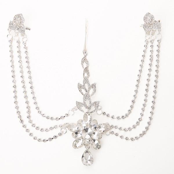 Luxueux Cristal/Alliage/Plastique Bijou de front / frontal