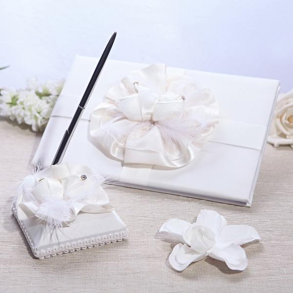 Elegante Guestbook & Set di penne