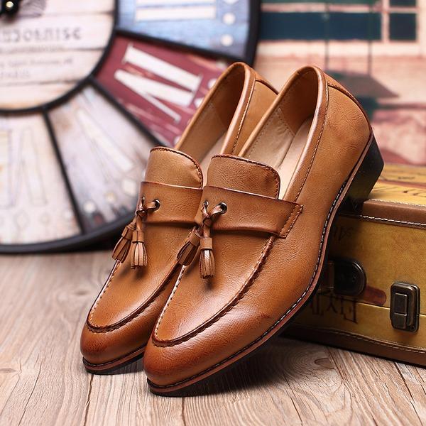 Mannen Kunstleer Tassel Loafer Casual Loafers voor heren