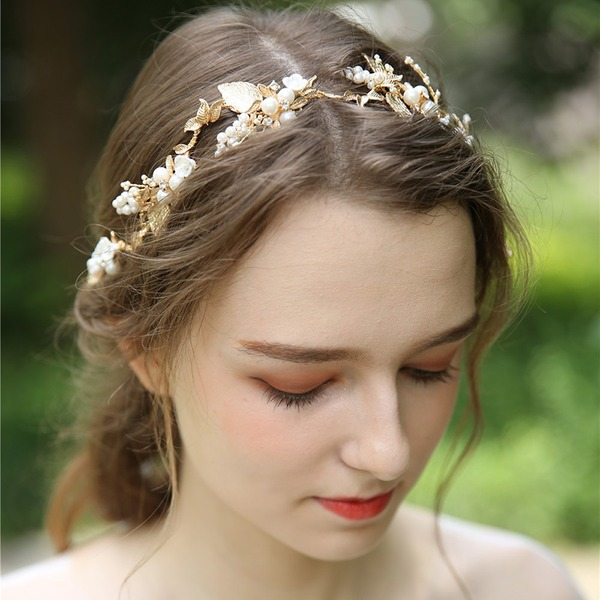 Abbigliamento donna Bella lega/Di faux perla/Di ceramica Fasce con Perla Veneziano