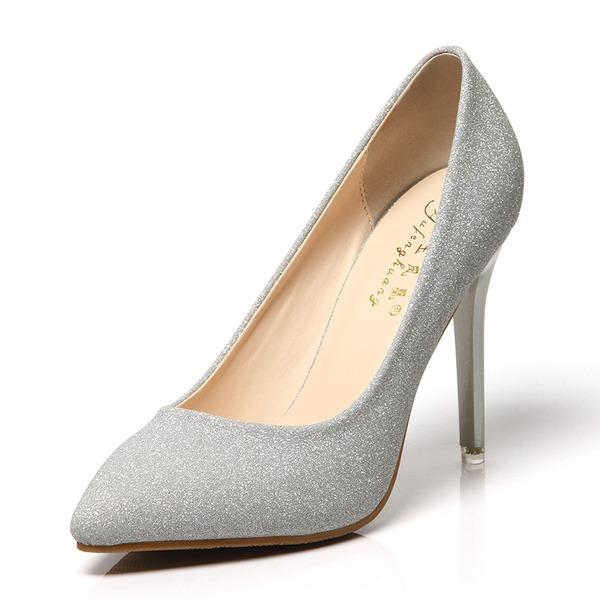Femmes Pailletes scintillantes Talon stiletto Escarpins chaussures