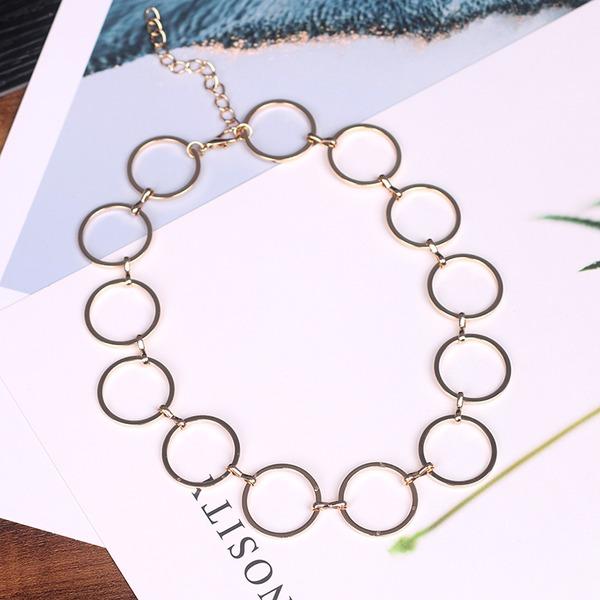 Einzigartig Legierung Frauen Mode-Halskette