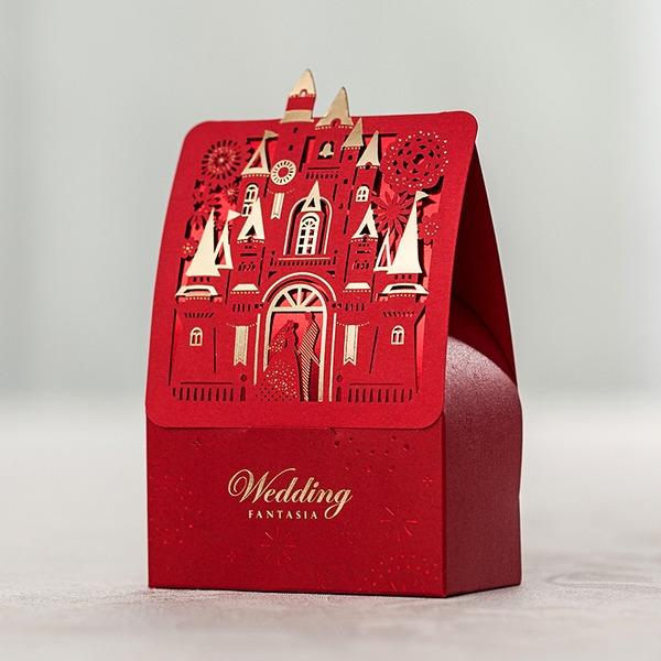 Estilo de la vendimia Otros Papel para tarjetas Cajas de regalos (Juego de 12)