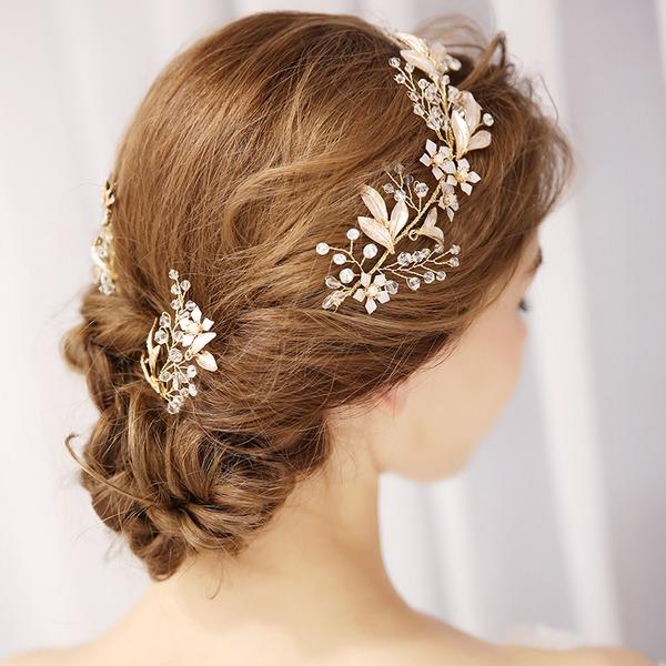Abbigliamento donna Brillante lega Pettine & clip di capelli con Strass (Set di 3)
