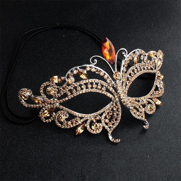 Krásný Slitina Masky S Drahokamu/Krystal