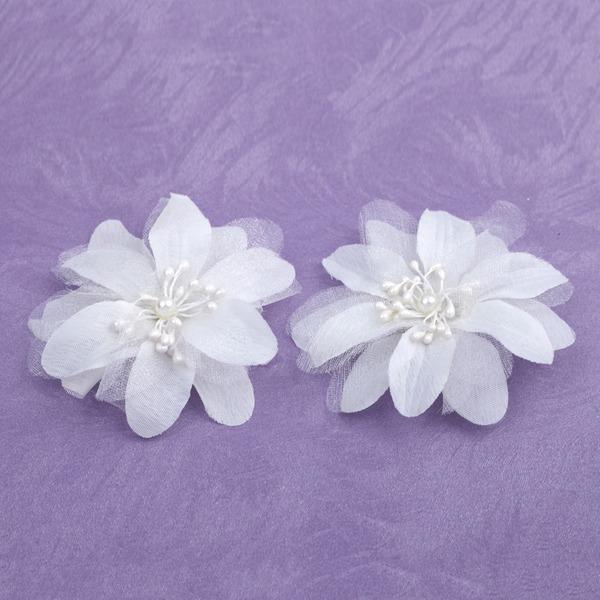 Belle Satiné Fleurs et plumes (Lot de 2)