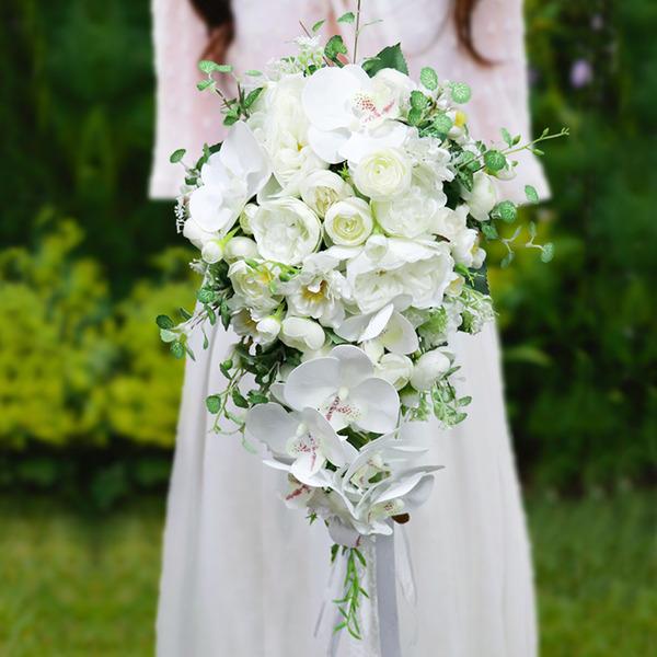 Güzel Çağlayan ipek Çiçek Gelin buketleri - Gelin buketleri