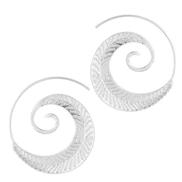 Nizza Legierung Frauen Art-Ohrringe (Set von 2)