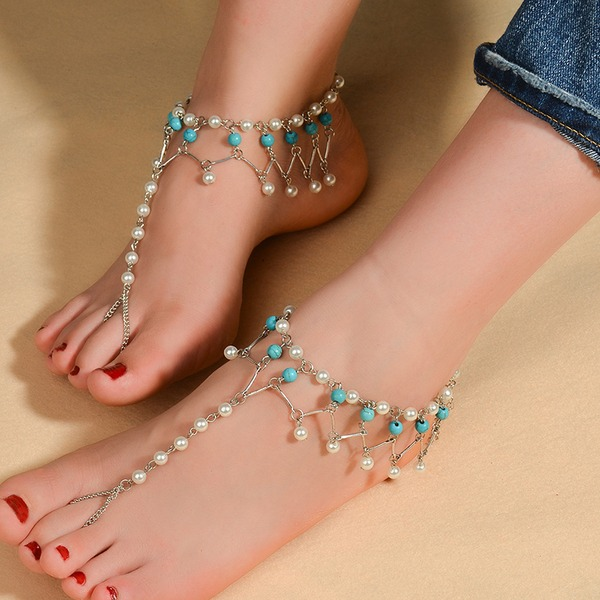 Alloy Foot Jewellery (Set of 2)